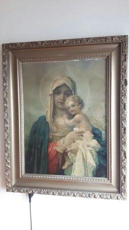 Obraz Matka Boska z Dzieciątkiem, Maryja