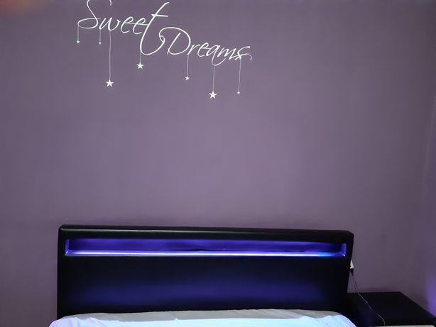 Łóżko meble sypialnia szafki materac 180x200