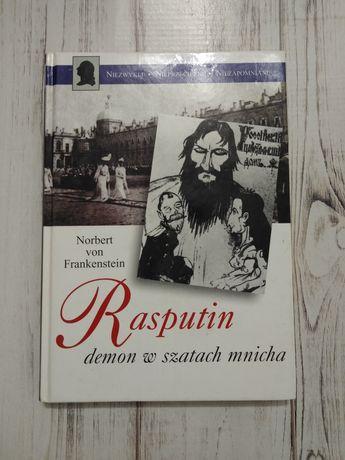 Rasputin demon w szatach mnicha.