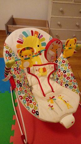 Espreguiçadeira de bebé com vibração
