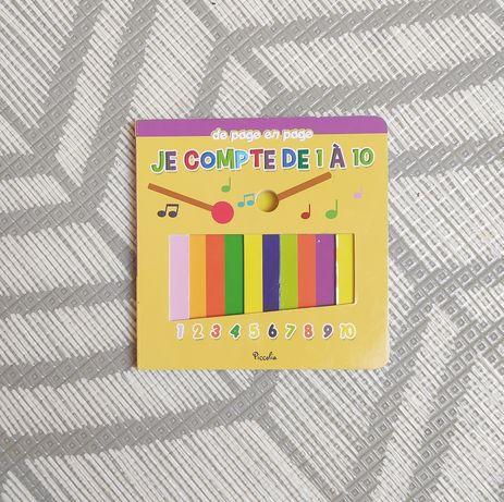 """Książeczka po francusku """"Le compte de 1 a 10"""" dla najmłodszych"""
