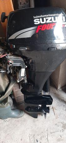 Silnik zaburtowy Suzuki 9.9 km 2008 czterosuw stopa s na części