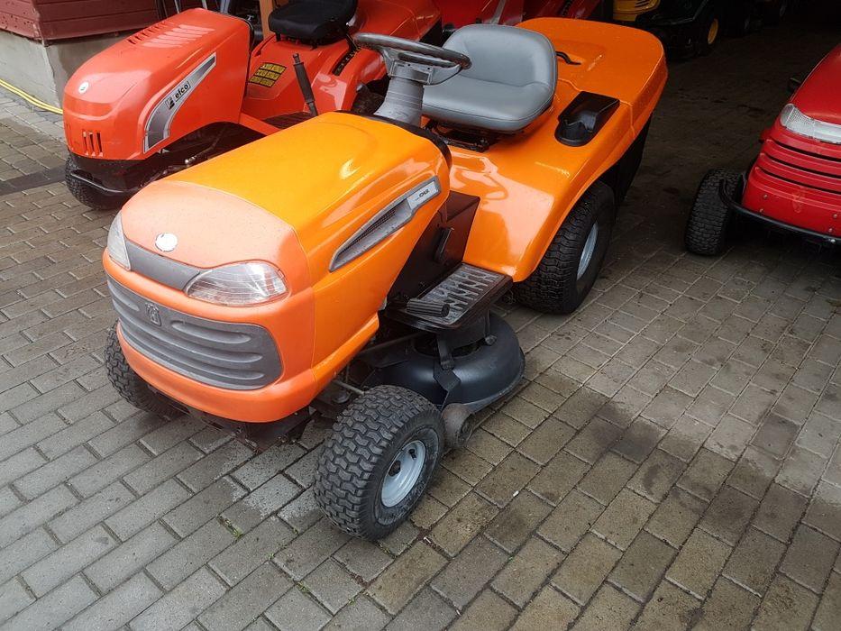 Kosiarka traktorek Husqvarna 14km kohler pompa oleju kosz Łańcut - image 1