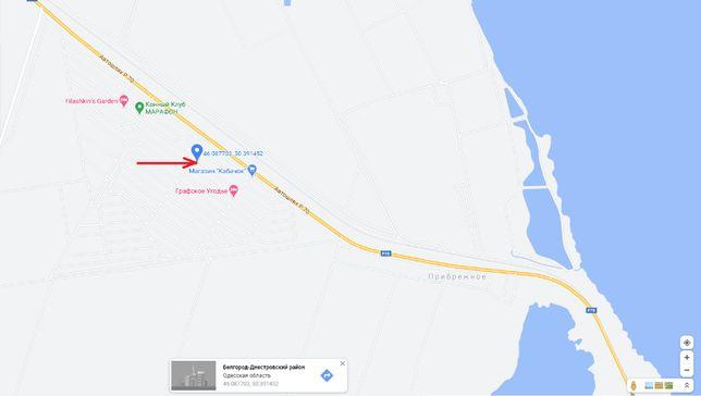 Участок, дача, с.Прибрежное, Белгород-Днестровский р-н Затока рядом