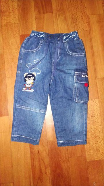 Утеплённые джинсы новые
