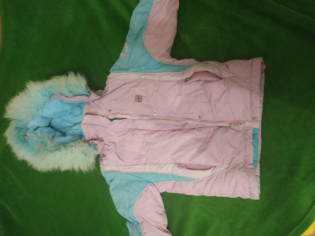 Зимний комбинезон, комбез, куртка 6 лет