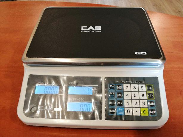Waga elektroniczna sklepowa CAS PR-II 15B Nowa