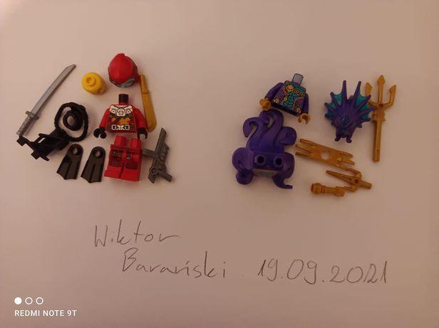Lego Ninjago Seabound Figurki Kalmaar, Kai Scuba