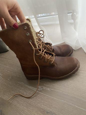 Демисезонные ботинки Timberland для девочки 31 размер (19 см стелька)