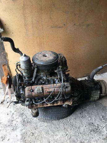 мотор газ 3307... ...газ 53 з коробкою...все робоче