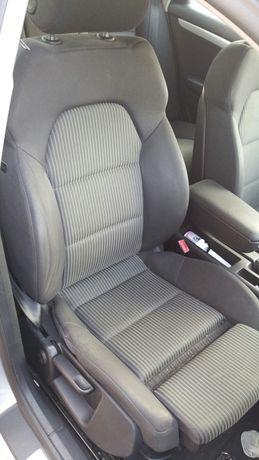 FOTELE siedzenia Sline pompowane kubełkowe Audi A4 B6 B7 Sedan
