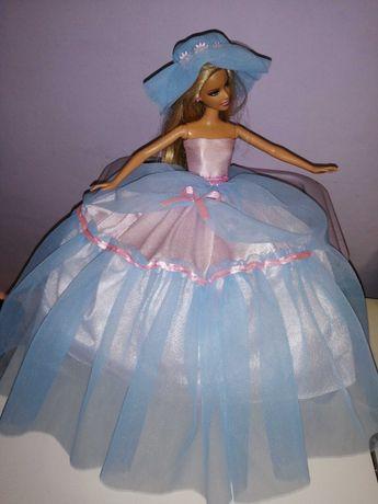 Suknia dla lalki typu barbie