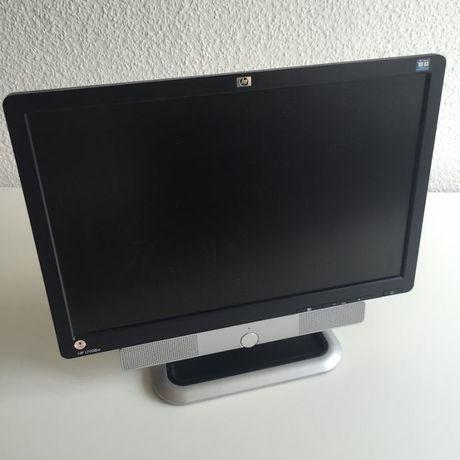 """Monitor Monitory HP L1908w 19"""" cali złącze D-SUB VGA głośniki SOUNDBAR"""