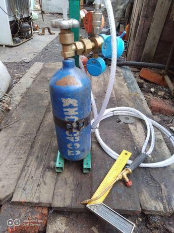 Продам газовую горелку кислород - пропан.