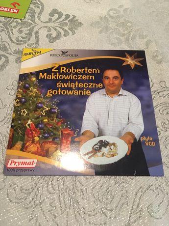 Płyta vcd z Robertem Maklowiczem świąteczne gotowanie