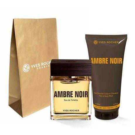 Новый подарочный набор для мужчин от Ив-Роше Ambre Noir