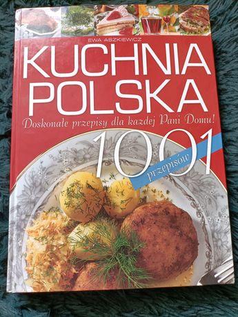 Książka kucharska 1001 przepisów Kuchnia Polska