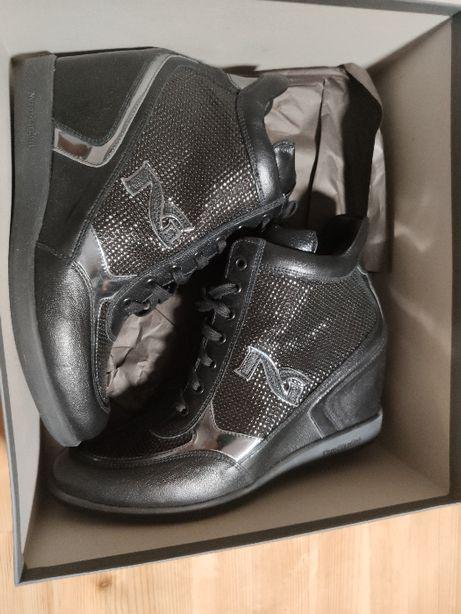 Sneakersy NERO GIARDINI Old Iron Grigio 105 r 39