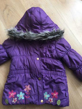 Зимняя куртка пальто 3-4 г