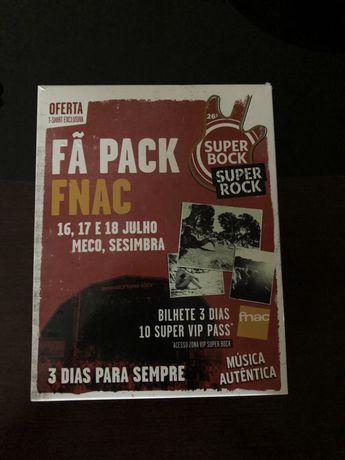 Bilhete Festival SuperBock SuperRock