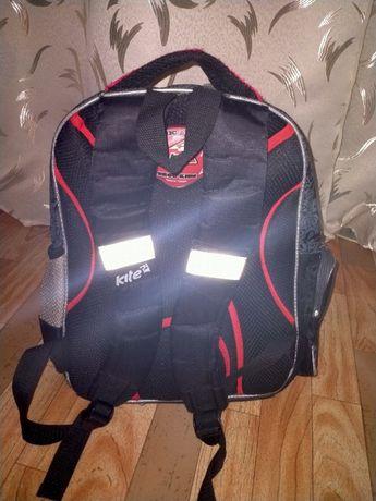 """Портфель рюкзак ранець для хлопчика фірми """"Kite"""" з світловідбивачами"""