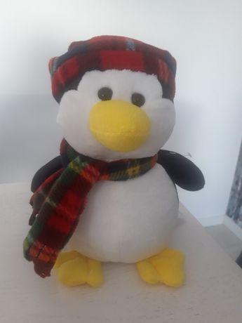 Maskotka zimowy pingwin