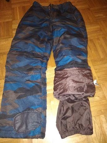 spodnie narciarskie - rozmiar 164cm