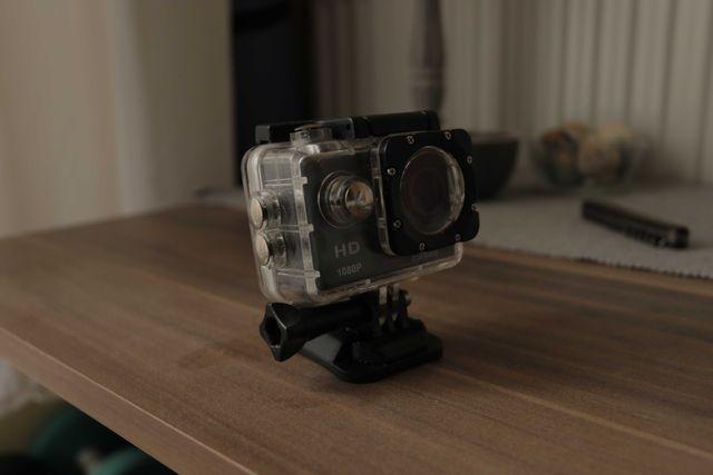 Kamera sportowa Furybee + obudowa wodoszczelna (jak gopro hero)