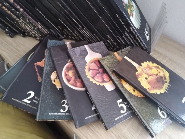 Encyklopedia sztuki kulinarnej 37 tomów cena za całość
