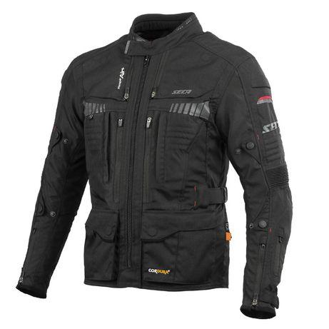 Nowa Kurtka Motocyklowa SECA X-TOUR Black rozmar S do 4XL