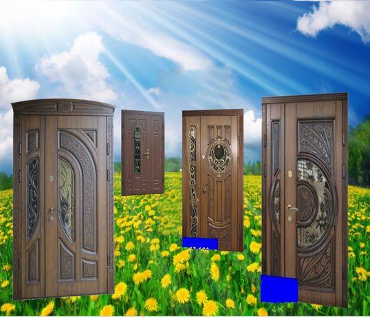 двері 8250 двери входные с ковкой полуторні широкі в будинок