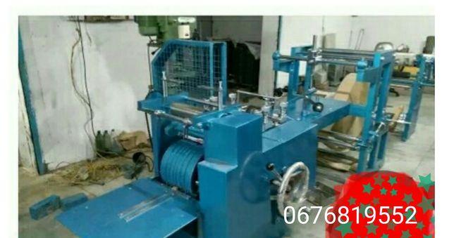Оборудование для производства бумажных пакетов. Станок паперові пакети