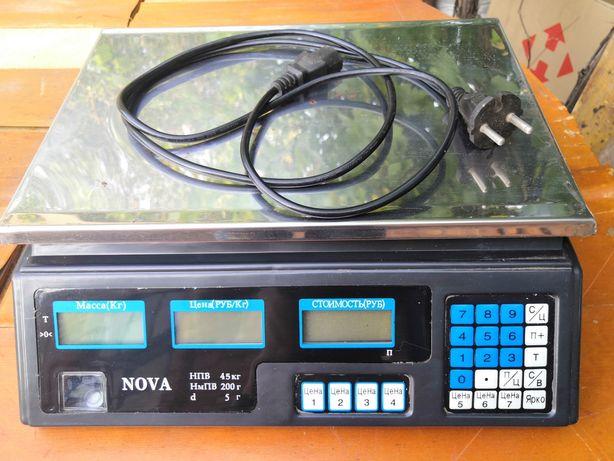 Весы торговые Nova