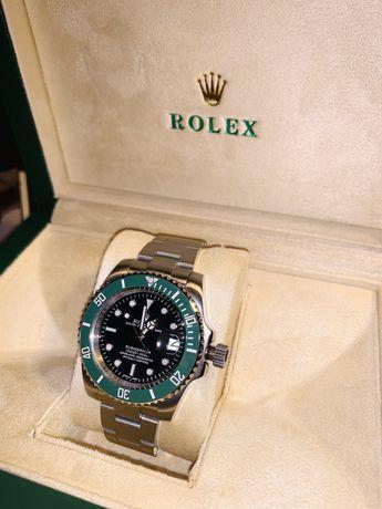 Rolex Submariner Date  LV Kermit VSF SS 904L Black Dial Swiss 3235