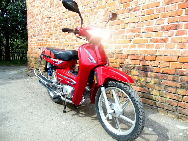 Мопед 125cc кубов