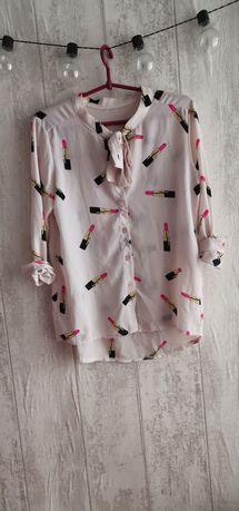 Słodka koszula w szminki