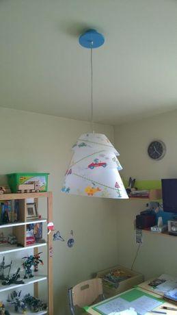 Lampa wisząca do pokoju dziecięcego firmy Haba