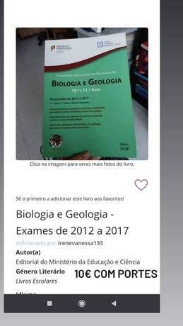Exames Biologia e Geologia - 2012 a 2017