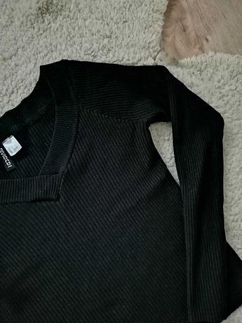 Sweter w prążki 38 M