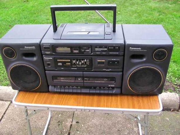 Ghettoblaster - PANASONIC RX-DT650 - XBS Boombox radiomagnetofon