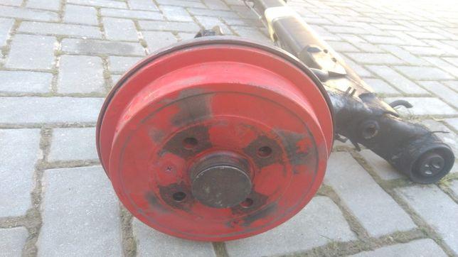 Eixo traseiro Seat Ibiza 6k2
