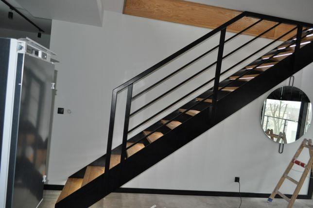 Konstrukcje schodów stalowych