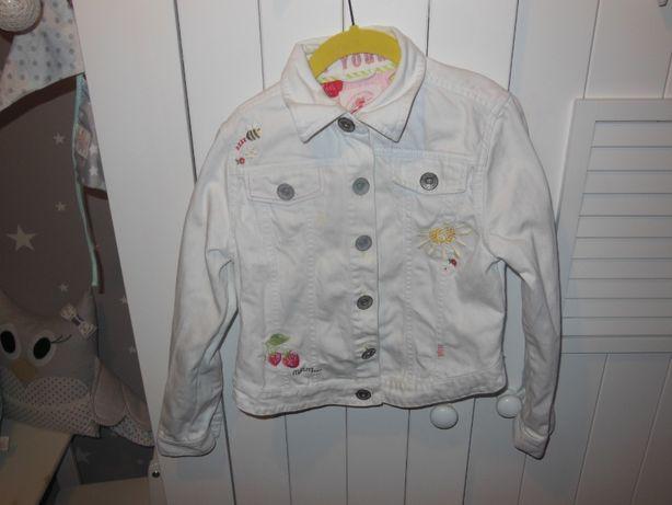 NEXT super kurtka katana jeansowa dla dziewczynki r.140 cm