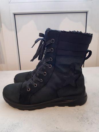 Зимние ботинки для девочки Ecco, р.36