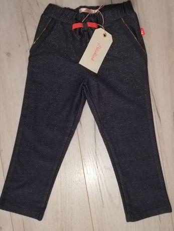 Spodnie błyszczące Billieblush r. 94 legginsy