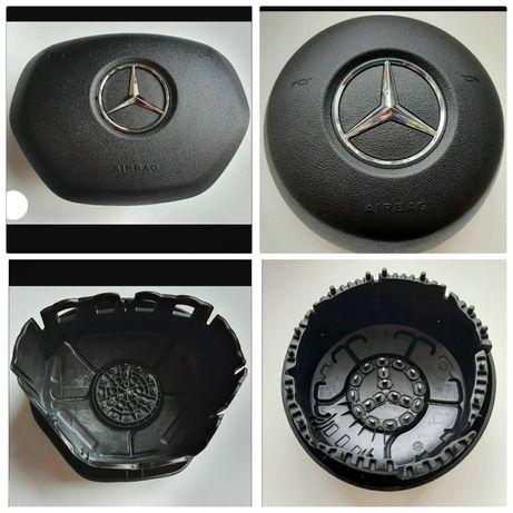 Кришка муляж обманка в руль подушка безпеки Mercedes W166 ML350 A200