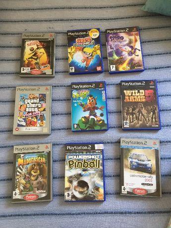 Lote de jogos PS2