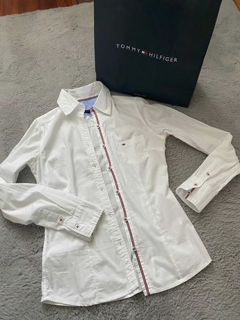Biała koszula Tommy Hilfiger 6