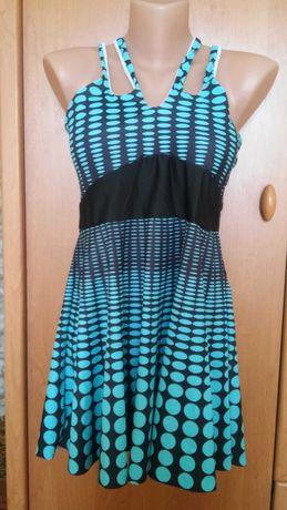 Платье-купальник с трусиками,Европа,евро-16,наш-50.