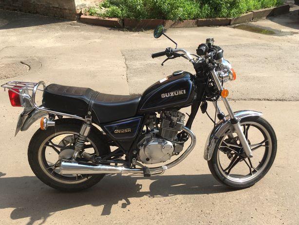 Suzuki gn 125 h, пробіг 22700км